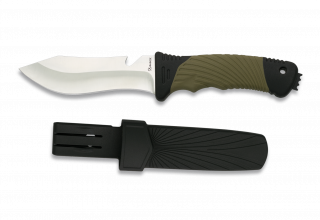 Cuchillo tactico Albainox. hoja: 12 cm