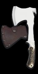 Hunting axe ALBAINOX deer horn