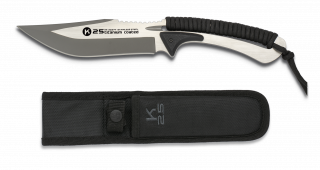 cuchillo encordado K25 black. Total: 25