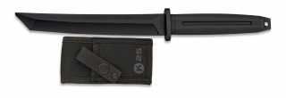 Cuchillo k25 entrenamiento negro. 18.4cm