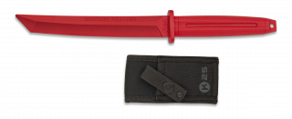 Cuchillo K25 Entrenamiento rojo. H: 18.4