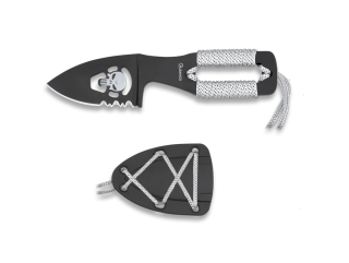 Albainox Skull knife. Blade 5 cm