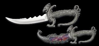 Cuchillo decoración dragón