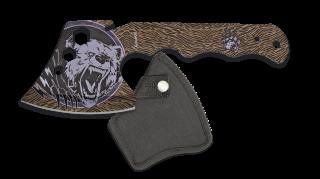 Albainox Bear head axe. 24 cm