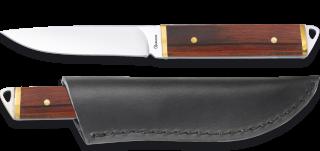 cuchillo mini con funda piel Albainox.