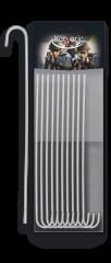 Piquets en aluminium.