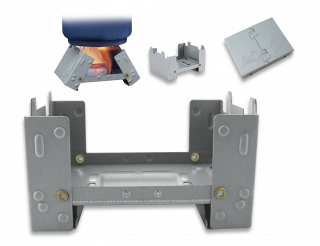 Barbaric foldable stove