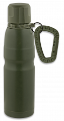 Thermos bottle. Snap hook and ring.500ml