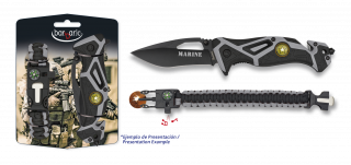 Set: Pocket knife MARINE + paracord