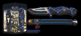 Set: Pocket knife AIR FORCE + paracord