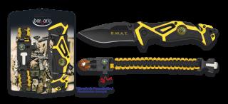 Set: Pocket knife SWAT + paracord