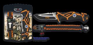 Set: Pocket knife EMS + paracord