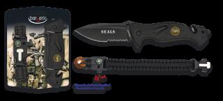 Set: Pocket knife SEALS + paracord