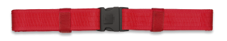 Cinturon BARBARIC FORCE  Rojo. 5x138cm