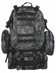 Backpack BARBARIC Black Phyton 50l