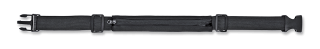 Riñonera nylon color negro