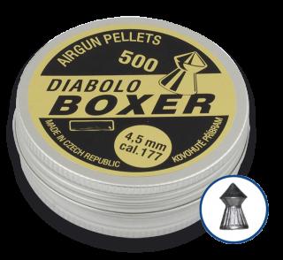 DIABOLO BOXER pellets. Cal 4.5 (500 pcs)