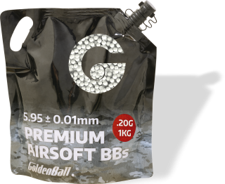 Bag airsoft pellets PVC 6mm 0.20g
