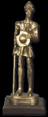 Trofeo resina QUIJOTE con peana (23,5 cm