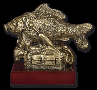 Trofeo resina BESUGO con peana (17.5 cm