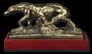 Trofeo resina GALGOS con peana (13.5cm)