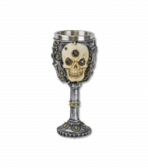 Skull decoration cup. 20 cm