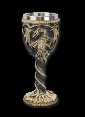 Dragon decoration cup. 20 cm