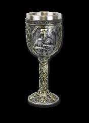 Copa decoración Templarios 20 cm