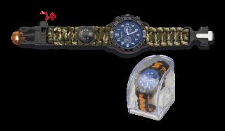Reloj táctico supervivencia Camo
