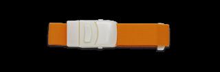 Tourniquet élastique. Orange