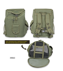 Backpack for mushroom collecting