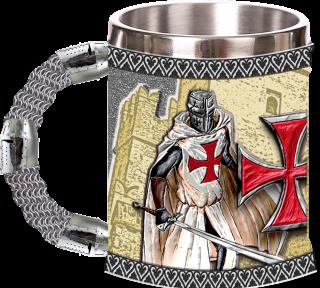 taza resina templaria Knight