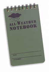 libreta waterproof 12.1 * 7.6.