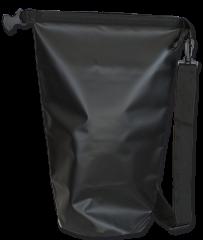 Black watertight bag. 30L