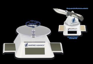 Rotatory display for 1 piece. Albainox
