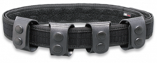 Soft interior belt with loops