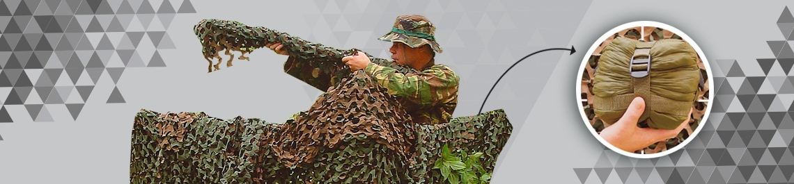 Camouflage equipment and accesories