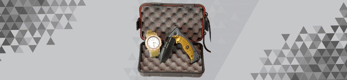 Reloj + linterna
