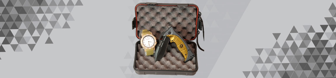Watch + pocket knife